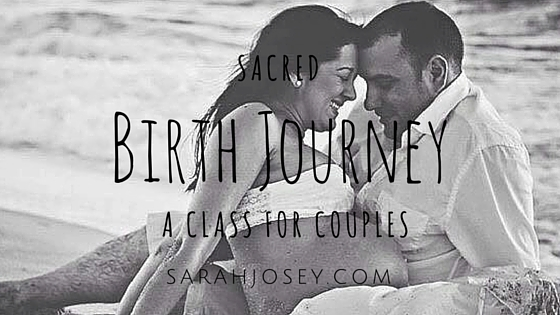 sacred birth journey